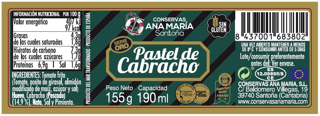 TARRO PASTEL CABRACHO 190 ml.